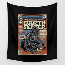 Darth Skater The Skate Lord Wall Tapestry