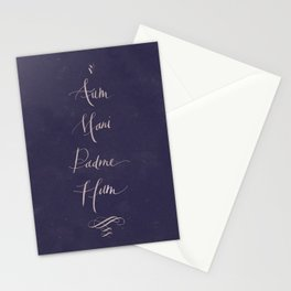 Aum Mani Padme Hum Stationery Cards