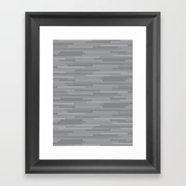 Grey Estival Mirage Framed Art Print