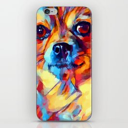 Chihuahua Watercolor iPhone Skin