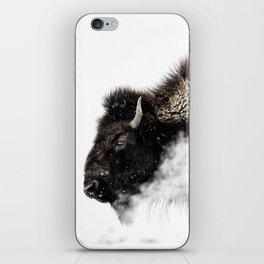 Bison Yellowstone Winter iPhone Skin
