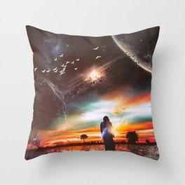 INFINITE WORLD #5 Throw Pillow