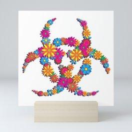 Beautiful Biohazard Mini Art Print