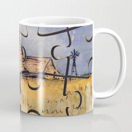 Barn Puzzle Coffee Mug