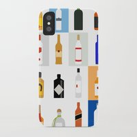 bar iPhone & iPod Cases featuring Open Bar by Liz Slome