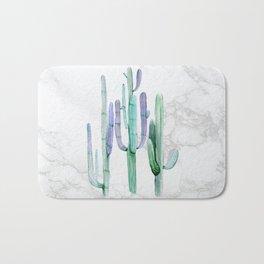 Cactus Trio Marble Sage by Nature Magick Bath Mat