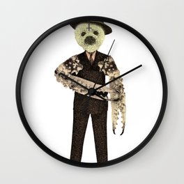 Evil Manager Wall Clock