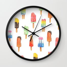 Popsicles by La Papelerie Wall Clock