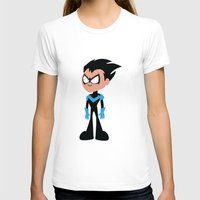 nightwing T-shirts featuring Nightwing by Adrian Mentus