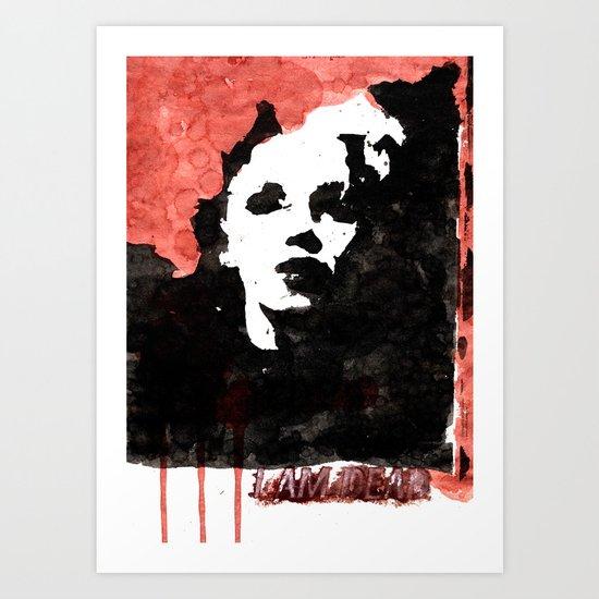 The Marilyn Monroe Beyond Art Print