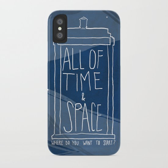 All Of Time And Space iPhone Case