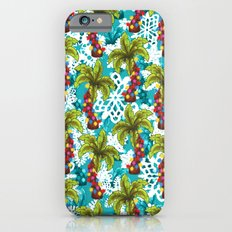 Tropical Christmas Slim Case iPhone 6