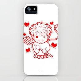 Kawaii Kiddies Cute Devil iPhone Case