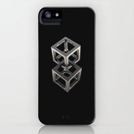 T w o C u b e s iPhone Case