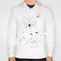 sketch Hoodies featuring Sketch by LEIGH ANNE BRADER
