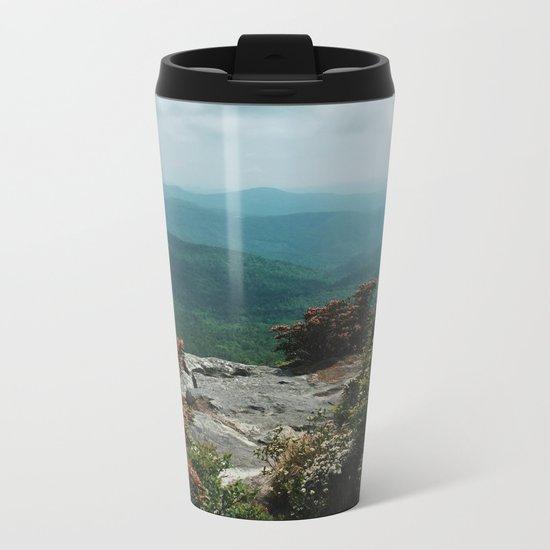 Blue Ridge Mountains Metal Travel Mug