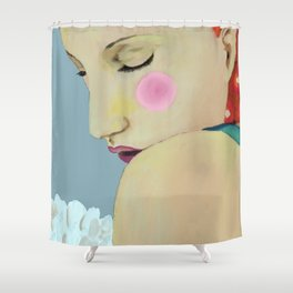 inner self Shower Curtain