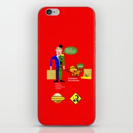 Military–industrial–congressional complex (M. I. C. C.) iPhone Skin