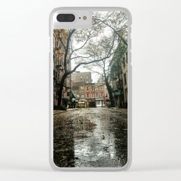 Morton And Bleecker Clear iPhone Case