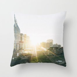 Nashville, Tennesse Throw Pillow