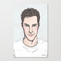 enerjax Canvas Prints featuring SmileyBatch by enerjax