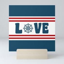 Love compass Mini Art Print