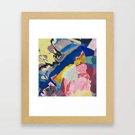 Color Milkshake Framed Art Print