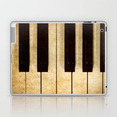 Vintage piano Laptop & iPad Skin