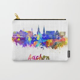 Aachen skyline in watercolor Carry-All Pouch