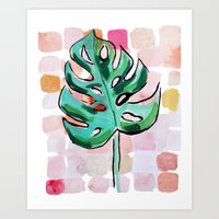 Life In The Shaded, Warm Air Is Good For The Soul Art Print