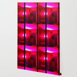 Red Camera Man Wallpaper
