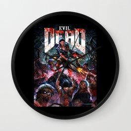 evil dead Wall Clock
