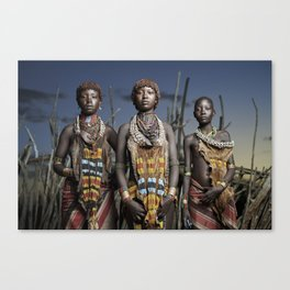 Hamer Beauty Canvas Print