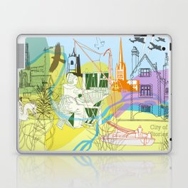 Norwich- City of Stories Laptop & iPad Skin