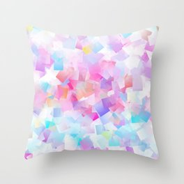 iDeal - Squared Pastel Throw Pillow