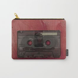 Cassette tape music vintage red Carry-All Pouch