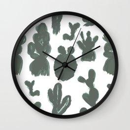 Piikikkäät - the stingy ones Wall Clock