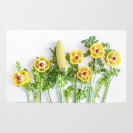 Peppers flower (35) Rug