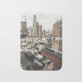 New York City View Bath Mat