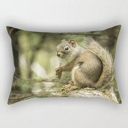 Who You Calling Squirrelly? Rectangular Pillow