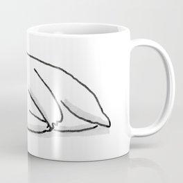 Sad Mochi the pug Coffee Mug