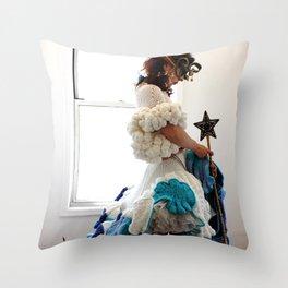 I Am the Gate Keeper Throw Pillow