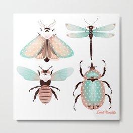 Insectes Metal Print