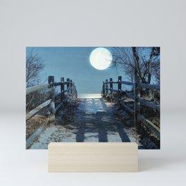 Under The Moonbeams Mini Art Print