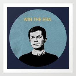 Win the Era- Pete Buttigieg Art Print