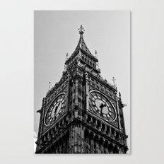 Big Ben | London . B/W Canvas Print