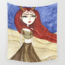 Desert Queen Wall Tapestry