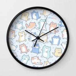 Kitty Dance Off! Wall Clock