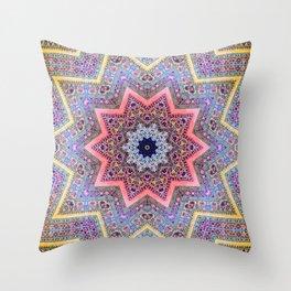 Mandala Faaa Raaa Oooon  Throw Pillow