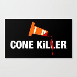Cone Killer v1 HQvector Canvas Print